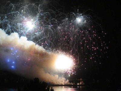 Olympiahafen Schilksee Feuerwerk 07.09.2021