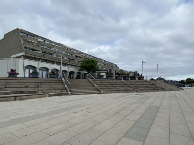Treppe Olympiazentrum Schilksee