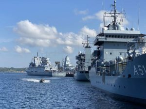 Open Ship Kiel 2021 Marineschiffe