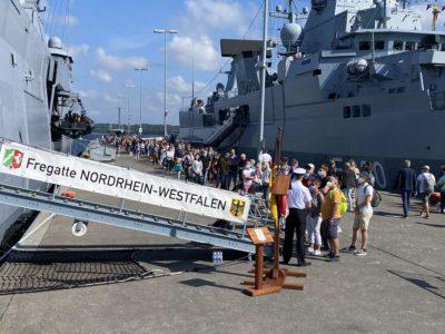 Open Ship Kiel Fregatte Nordrhein-Westfalen F 223