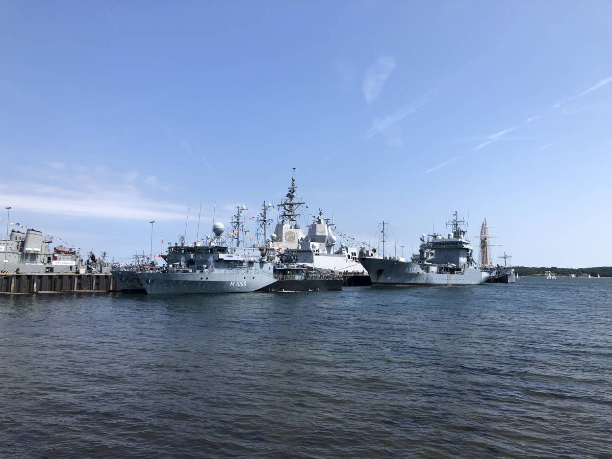 Open Ship Kiel Tirpitzhafen