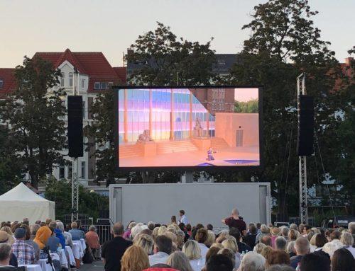 """Verdis """"AIDA"""" auf dem Blücherplatz – Liveübertragung der Opernpremiere"""