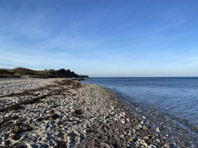 Bülker Strand Richtung Steilküste Stohl