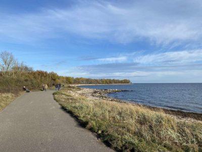 Ostsee bei Strande im Herbst