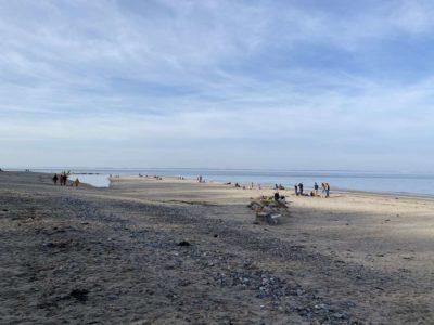 Dänisch-Nienhof Strand Februar 2021