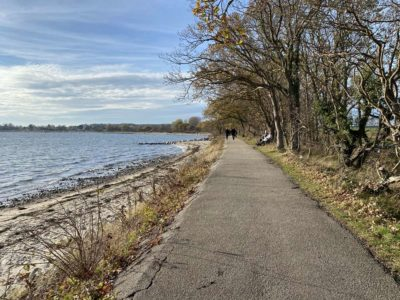 Spaziergang an der Ostsee Bülker Strand