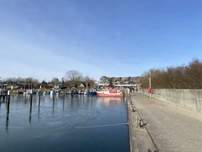 Hafen Ostseebad Strande Winter