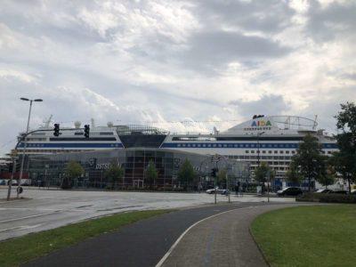 Ostseekai Kiel AIDA Kreuzfahrtschiff