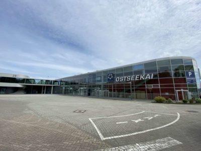 Parkplatz Ostseekai Kiel & Terminal