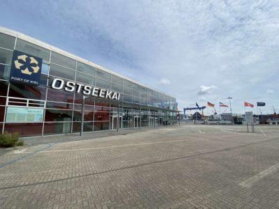 Ostseekai Kiel & Parkplatz