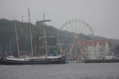 Pedro Doncker Segelschiff Blücherbrücke Kiel Windjammerparade 2013