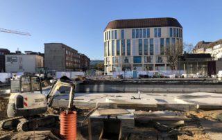 Berliner Platz Kiel Bauarbeiten Kleiner Kiel Kanal