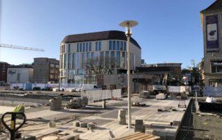 Baustelle am Primark-Neubau Kiel