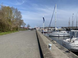 Promenade Kiellinie Kiel