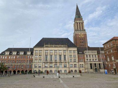 Kiel City Rathausplatz