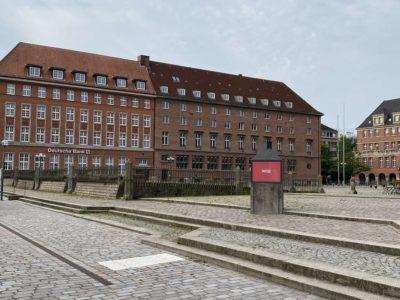 Rathausplatz Kiel Deutsche Bank Gebäude