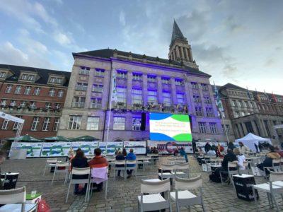 Kieler Woche 2020 Michael Schulte Rathausplatz Erlebnis- und Kinoareal