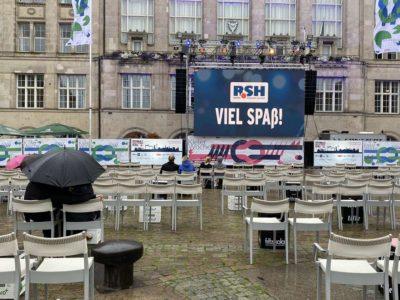 Lotte Live-Übertragung Kieler Woche 2020 Rathausplatz
