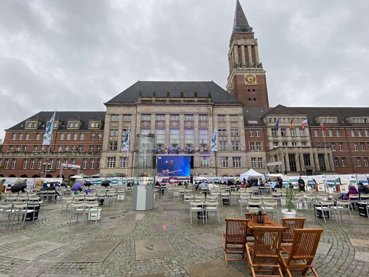 Kieler Woche 2020 Lotte Rathausplatz Erlebnis- und Kinoareal