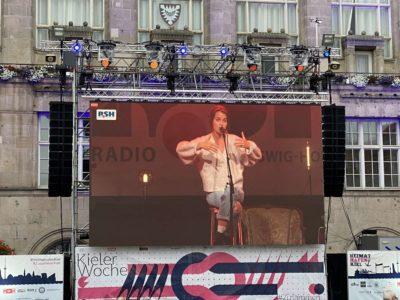 Kieler Woche 2020 Lotte Live-Übertragung Rathausplatz Kiel
