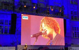 Kieler Woche 2020 Michael Schulte Konzert Übertragung Rathausplatz