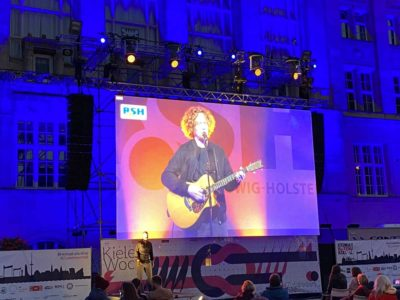 Michael Schulte Konzert Kieler Woche 2020