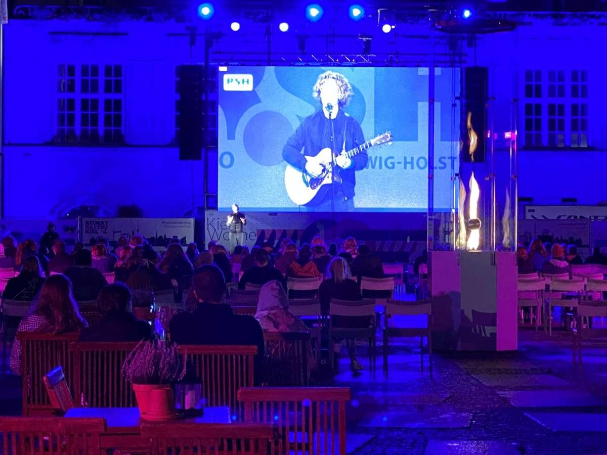 Kieler Woche 2020 Michael Schulte Live-Übertragung Rathausplatz