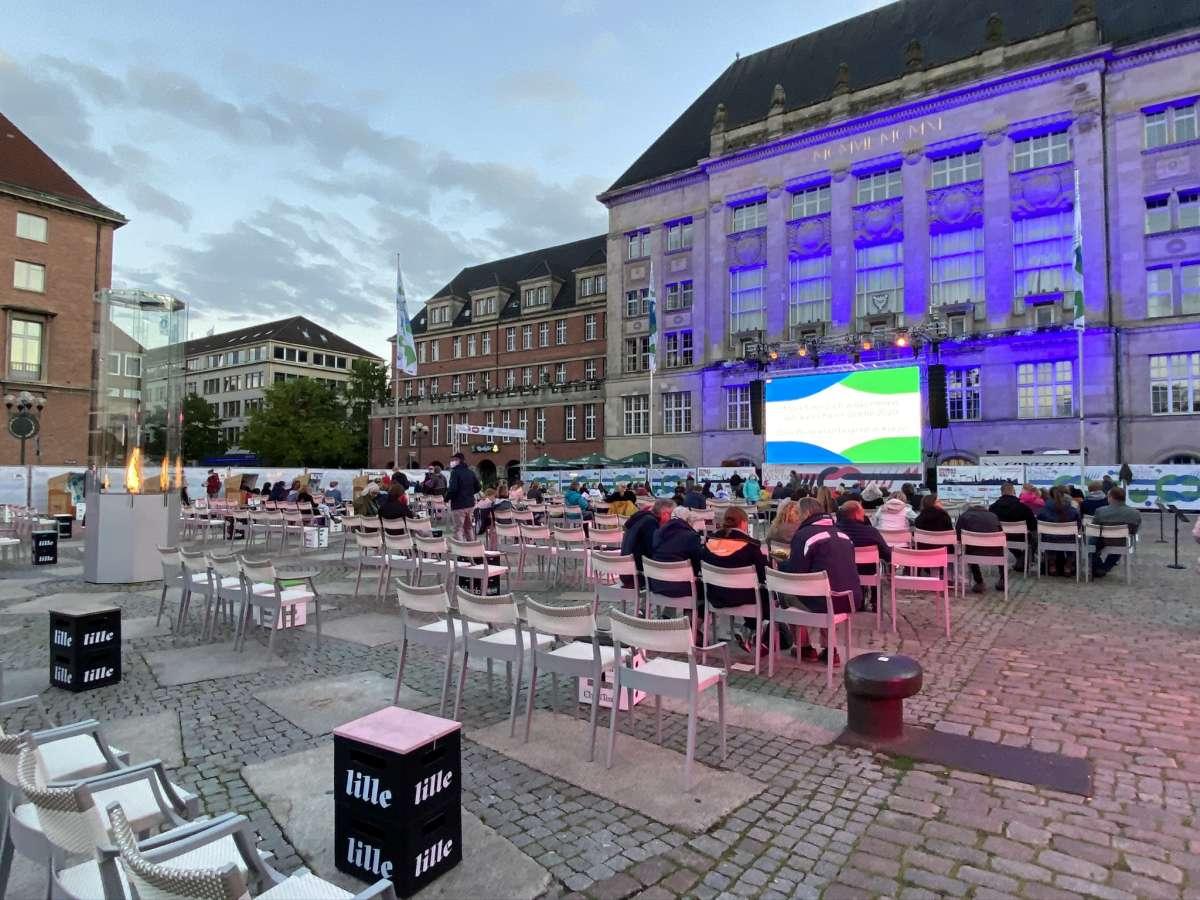 Kieler Woche 2020 Rathausplatz Übertragung Michael Schulte Konzert