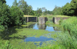 Rathmannsdorfer Schleuse am Alten Eiderkanal