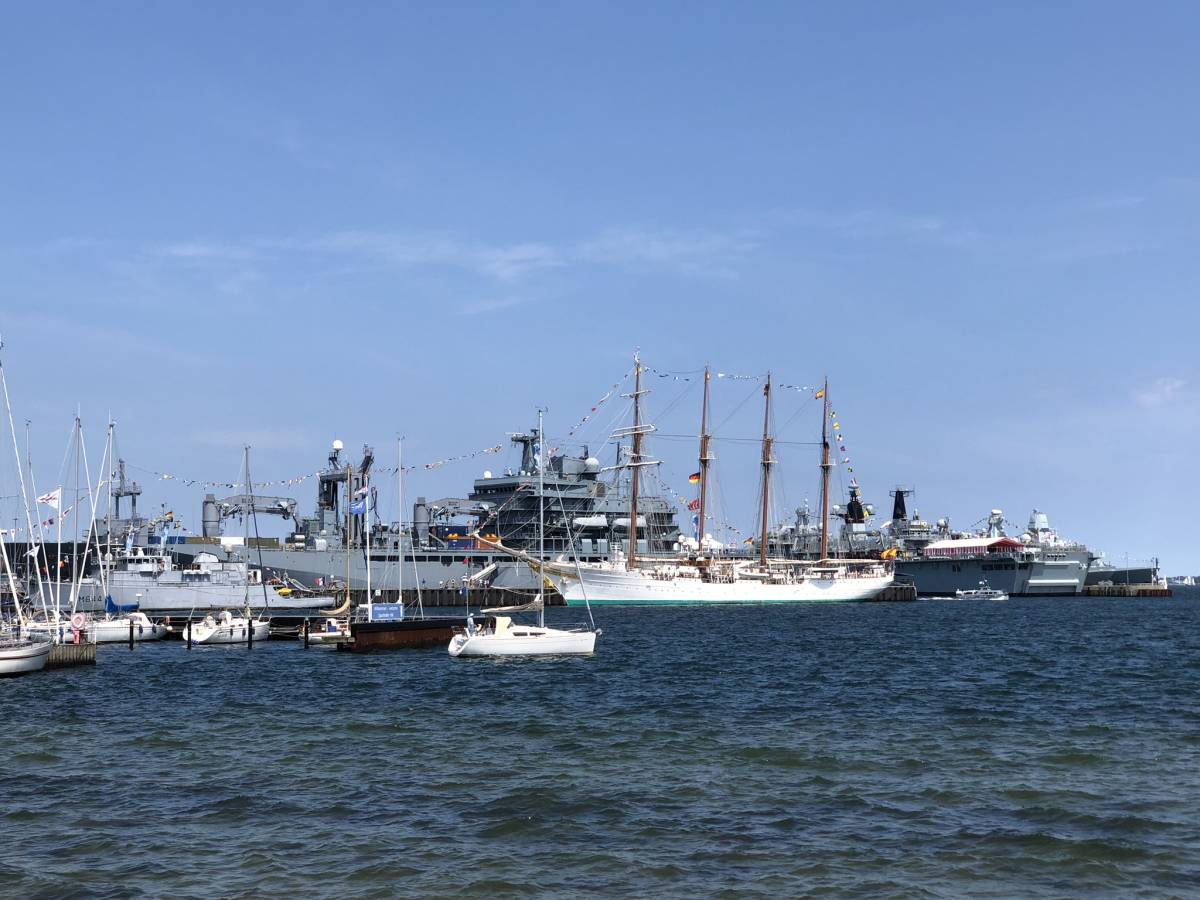 Tirpitzhafen Kiel Marineschiffe Open Ship 2019