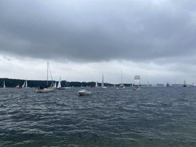 Kieler Förde Windjammerparade
