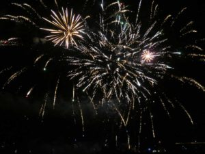 Feuerwerk Schilksee Olympiahafen