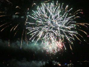 Kieler Woche Schilksee Feuerwerk 2021 Olympiahafen