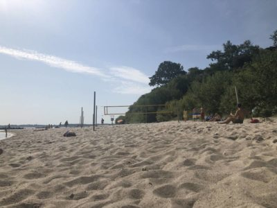 Schilksee Strand Beachvolleyball