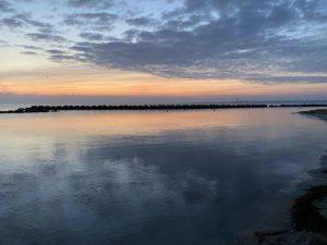 Strand Kiel-Schilksee Sonnenaufgang
