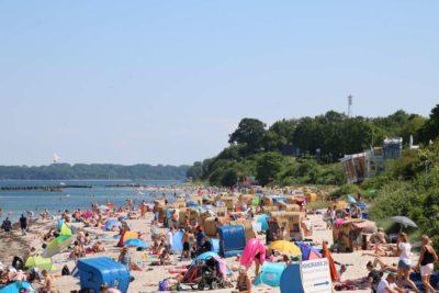 Badestrand Schilksee - Urlaub an der Ostsee