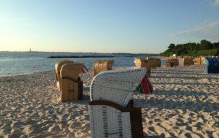 Strandkörbe am Schilkseer Strand