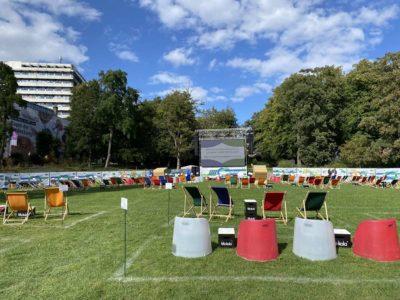 Kieler Woche 2020 Schlossgarten Konzert- & Kinofläche