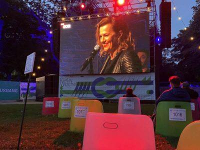 Live-Übertragung Schlossgarten Kieler Woche 2020 Die Happy Konzert