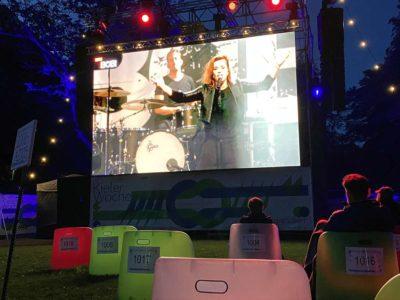 Die Happy Konzert 2020 Live-Übertragung Schlossgarten Erlebnis- und Kinoareal