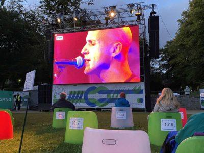 Milow live Kieler Woche 2020 - Übertragung im Schlossgarten
