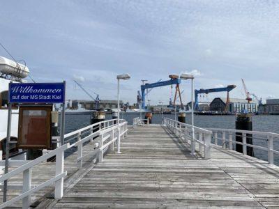 Seegartenbrücke Kiel Fähranleger
