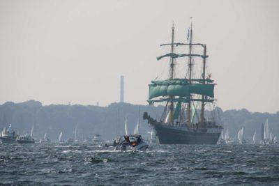 Segelschiff Alexander von Humboldt II Windjammerparade 2020 Kiel