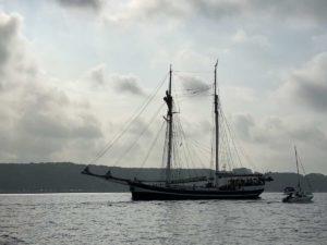 Segelschiff Banjaard Kieler Förde