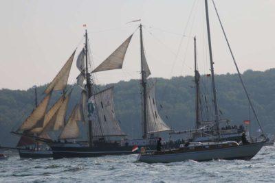 Segelschiff Thor Heyerdahl Kieler Förde