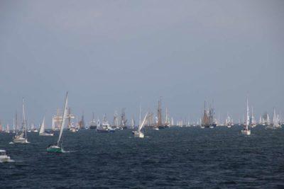 Kiel Windjammerparade 2020 Segelschiff in der Förde