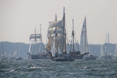 Segelschiffe Windjammertparade 2020 Kieler Förde
