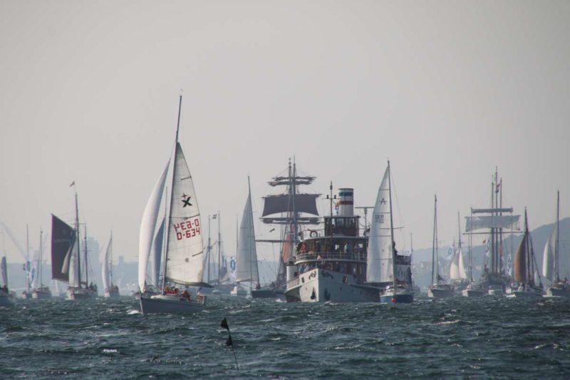 Segelschiffe Windjammertparade 2020