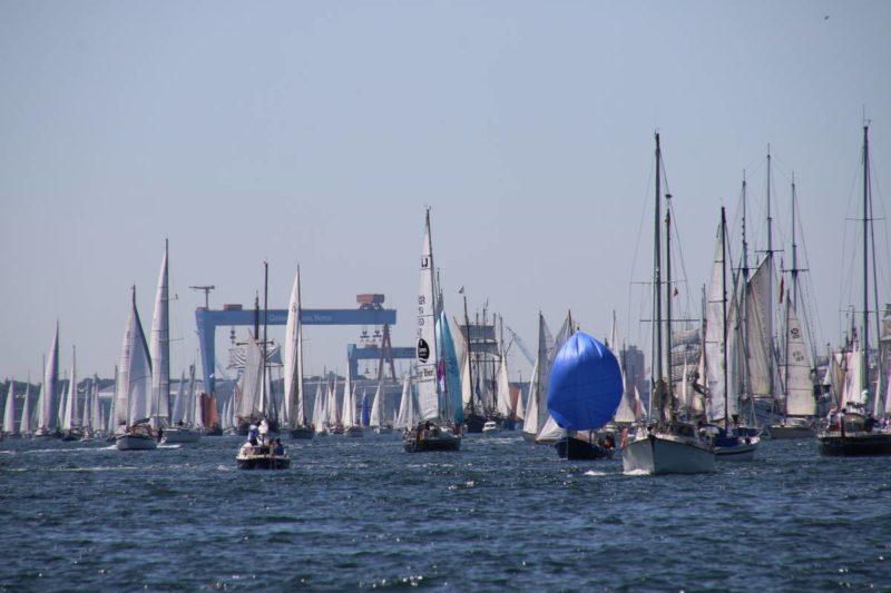 Segelschiffe Windjammerparade 2019 Kiel