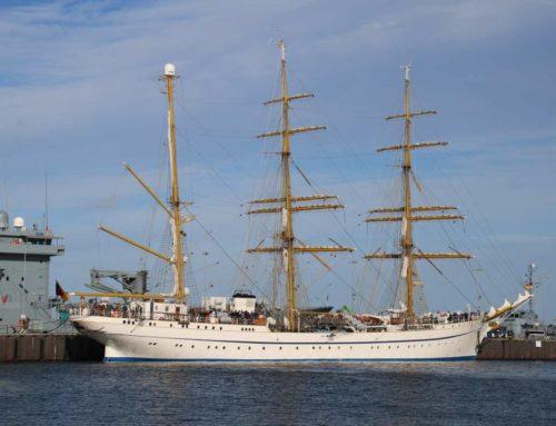 Segelschulschiff Gorch Fock ist zurück in Kiel